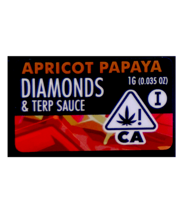 Apricot Papaya (Live Resin Diamond Sauce)