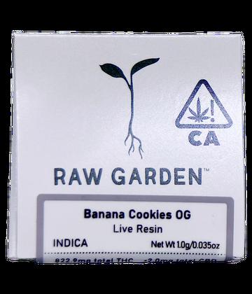 Banana Cookies OG (Live Resin)
