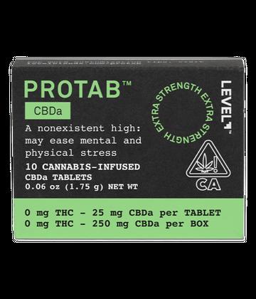 CBDa Protab Tablets - 10 pk