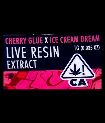 Cherry Glue x Ice Cream Dream (Live Resin Extract)