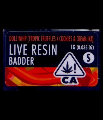 Dole Whip (Live Resin Badder)