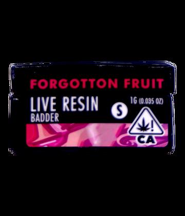 Forgotten Fruit (Live Resin Badder)