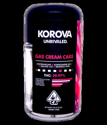 Gas Cream Cake