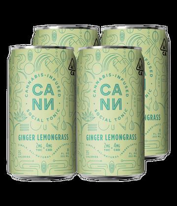 Ginger Lemongrass (4 pack)
