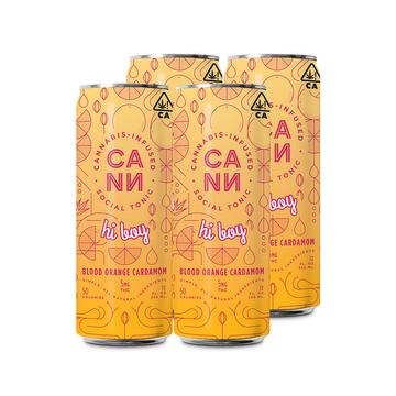 Hi-Boys Blood Orange Cardamom (4 pack)