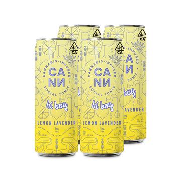 Hi-Boys Lemon Lavender (4 pack)