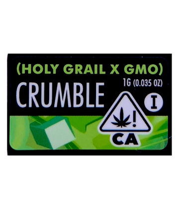 Holy Grail x GMO (Cured Resin Crumble)