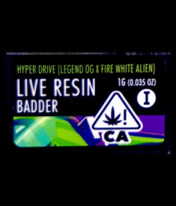 Hyper Drive (Live Resin Badder)