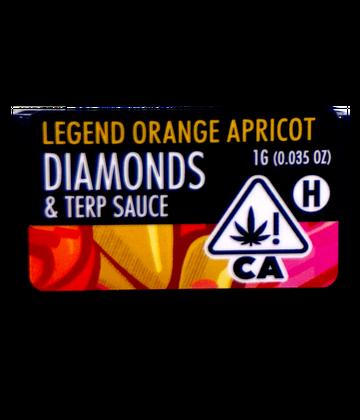 Legend Orange Apricot (Live Resin Diamond Sauce)
