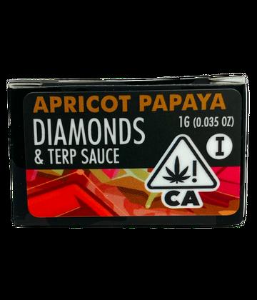 Papaya Cake (Live Resin Diamond Sauce)