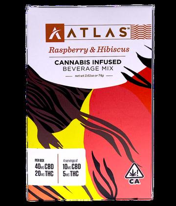 Raspberry Hibiscus Beverage Mix (4 Pk) 2:1 CBD/THC