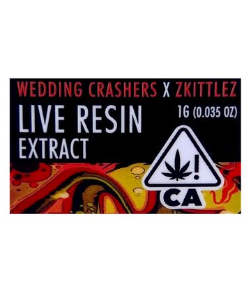 Wedding Crashers x Zkittlez (Live Resin Extract)